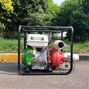 4寸防汛應急汽油機抽水泵