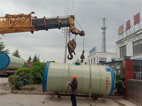 細談地埋式一體化污水提升泵站產品專業知識