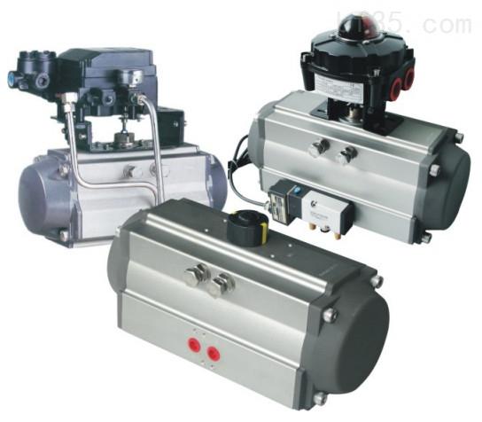AT型DA雙作氣用式氣動執行器組圖