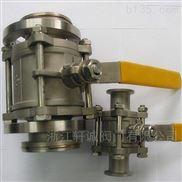 Q11F三片式对焊球阀