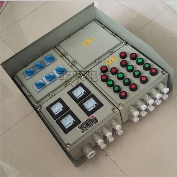 過濾機防爆通風機控制箱