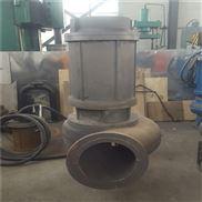 海上抽沙泵大型带铰刀潜水渣浆泵 配胶管