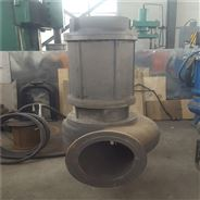 海上抽沙泵大型帶鉸刀潛水渣漿泵 配膠管