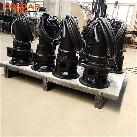 垃圾站污水铰刀泵SMPE150-2_380V-1.5KW