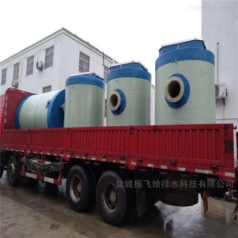 提升污水400立方每天一體化泵站