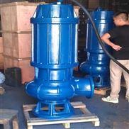 温州石一泵阀QWD带切割排污泵