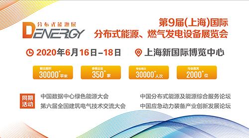 第9屆中國(上海)國際分布式能源、燃氣發電設備展覽會